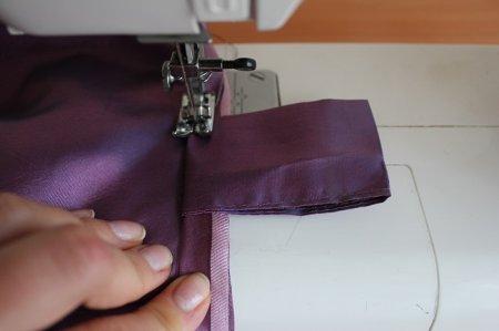 Пошив штор своими руками на петлях для