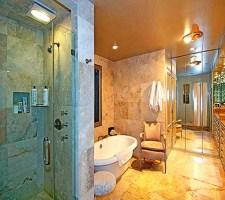 Ванная комната в греческом стиле