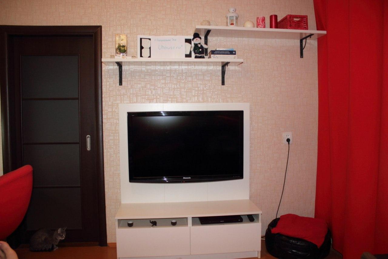 Полка для телевизора своими руками фото