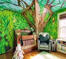 Настоящие джунгли в детской