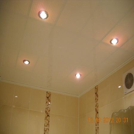 Своими руками точечное освещение в ванной 61