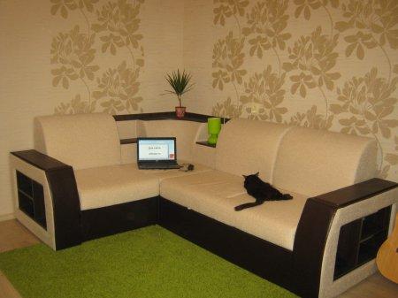 Интерьер комнаты в однокомнатной квартире