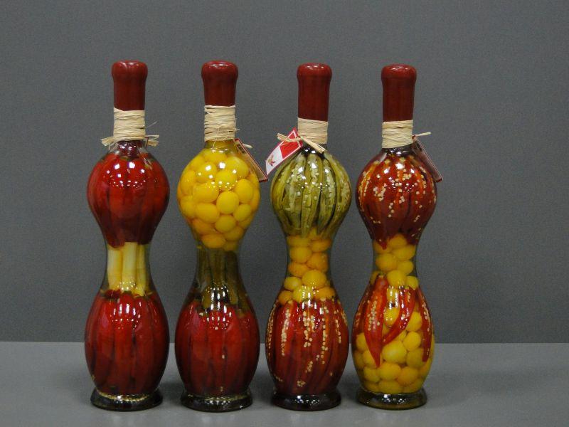Красивые бутылки своими руками фото