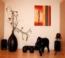 Африканская этника в дизайне интерьера