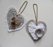 Сердечки для декора из бумаги