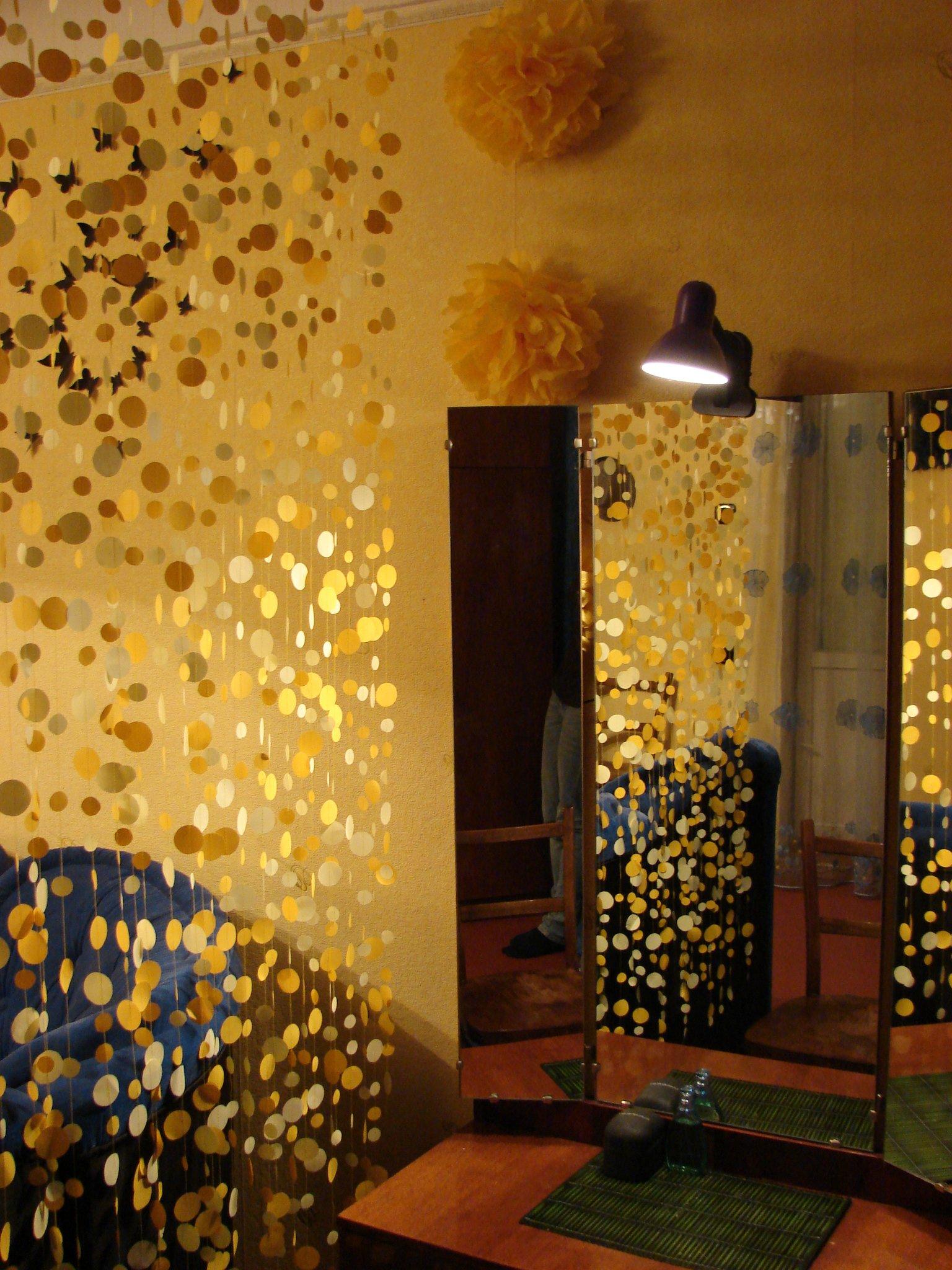 Бабочки своими руками из бумаги на стену
