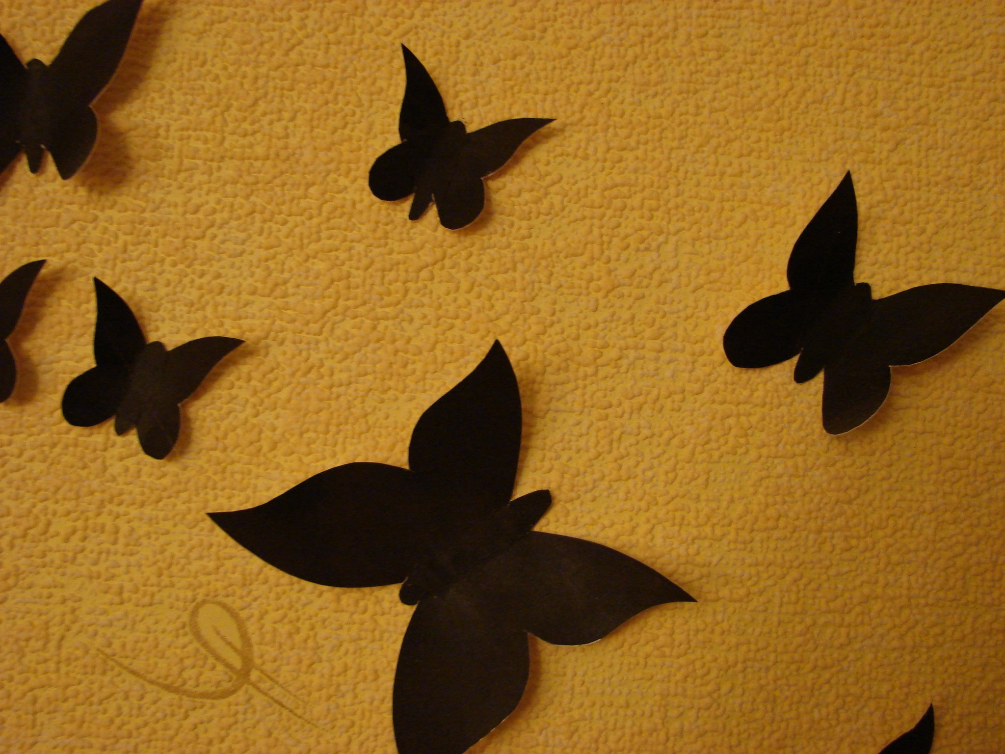 Бабочки для декора своими руками: из бумаги, объемные 11