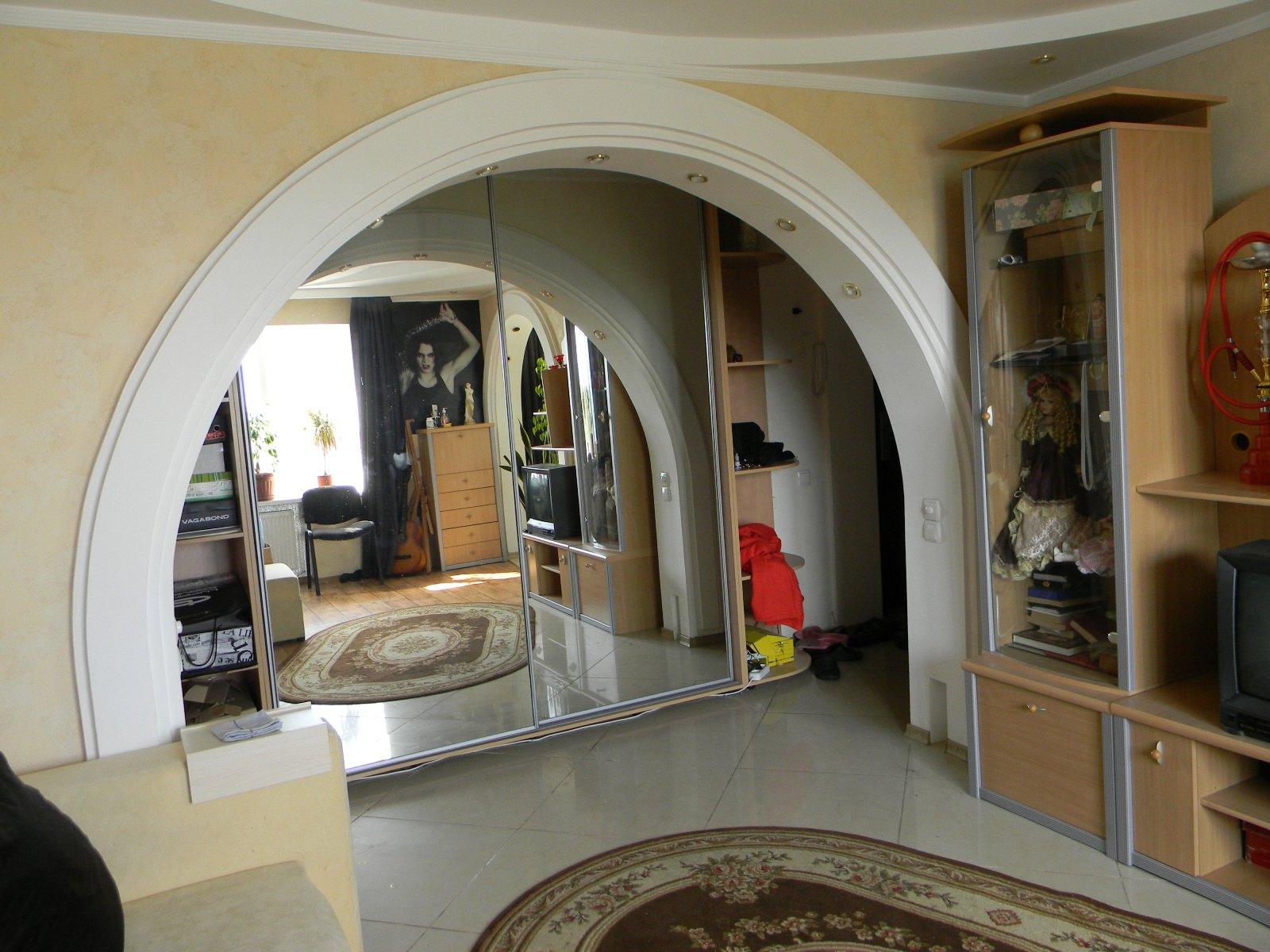 Дизайн арки входа