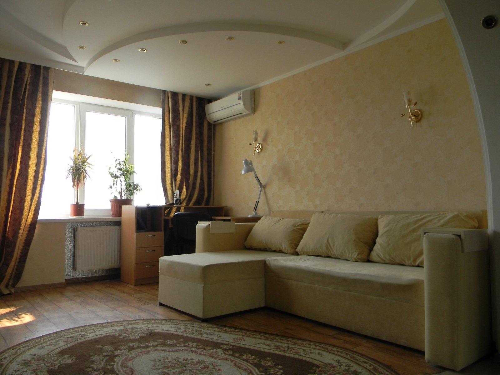Как недорого сделать в гостиной ремонт