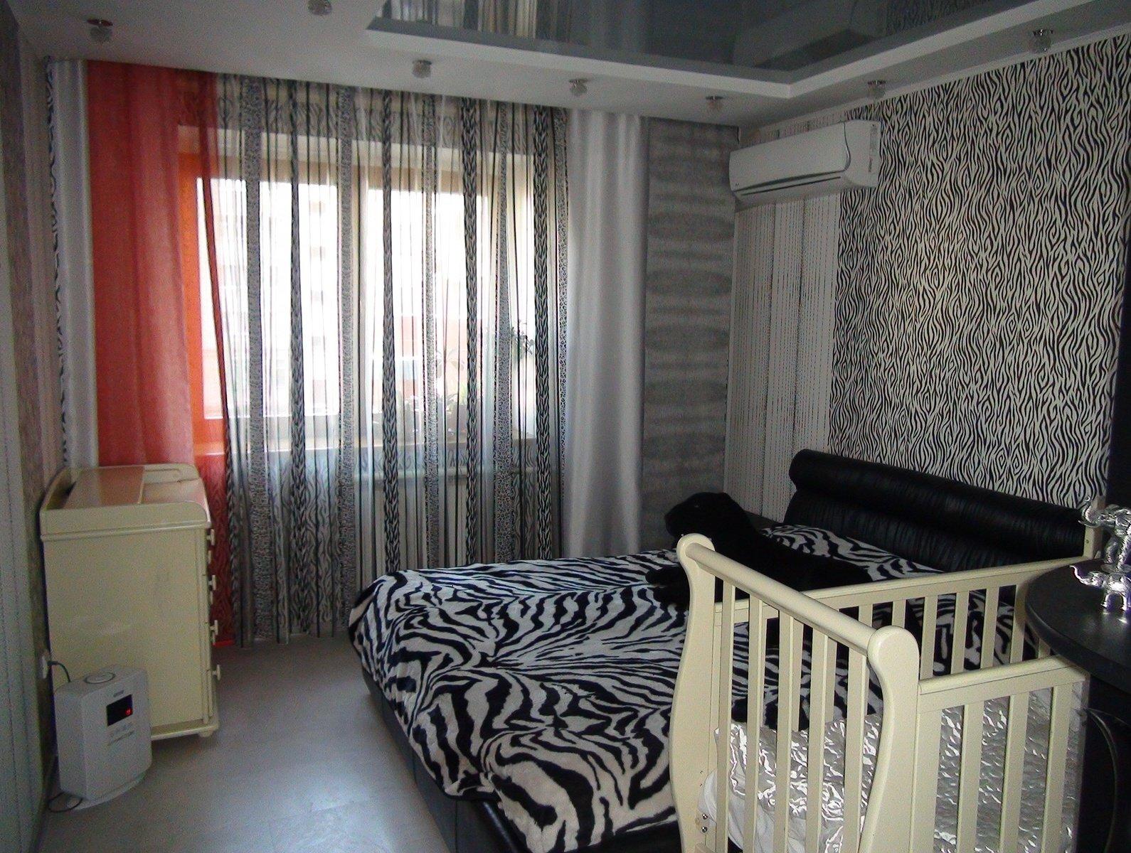 Дизайн черная спальня