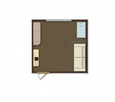 Комната для семьи с ребенком